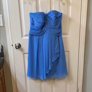 David's bridal bridesmaid short dress